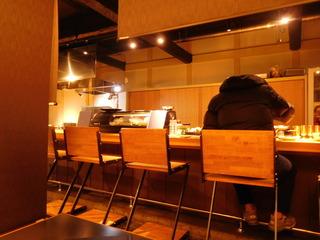富山ランチブログ隊 海と畑と僕 店内 カウンター席