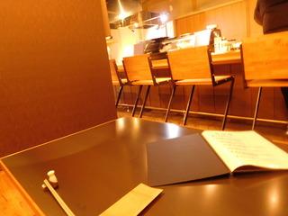富山ランチブログ隊 店内テーブル席