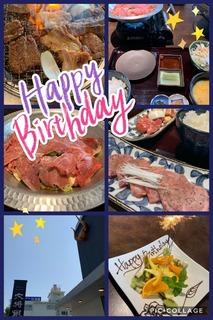 富山ランチブログ隊 大将軍 にて HAPPY BIRTHDAY ランチ