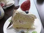 富山 ランチ ローズウッド ケーキ1カット