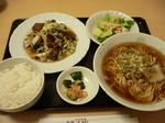 富山ランチ隊 満寿園 麺ランチ Cセット 回鍋肉