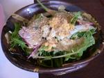 富山ランチ はづき サラダ