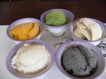 富山ランチ デザート アイス 5種