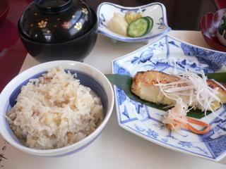 富山ランチ 賀茂川ランチ 魚の西京焼き