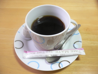 富山ランチブログ隊 ふる里 ランチ後のコーヒー