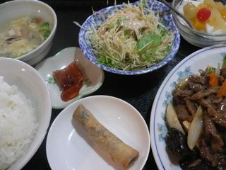 富山ランチブログ隊  全科福 牛肉のかきソースランチ