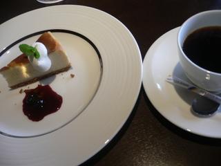 富山ランチブログ隊 ラシャンス デザート+ホットコーヒー
