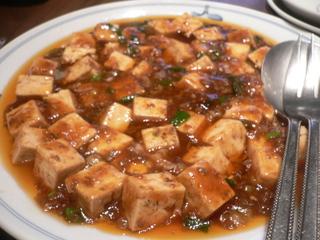 富山ランチブログ 隊 中華料理 高尾 マーボー豆腐