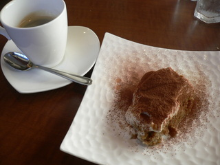 富山ランチブログ隊 アスト デザート ティラミス+コーヒー