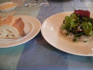 富山ランチブログ隊 ル・ポワソニエ フランスパン+前菜