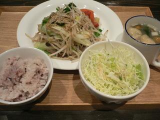 富山ランチブログ隊 たもり Lunch 厚切り豚の生姜焼きご飯