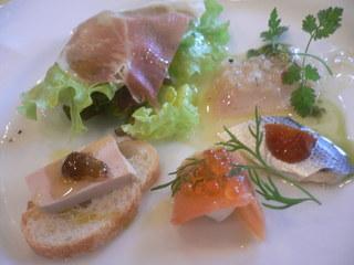 富山ランチブログ隊  イルグラーノ  前菜