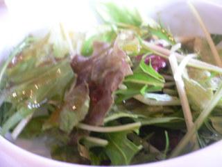 富山ランチブログ隊 呉音 野菜サラダ UP