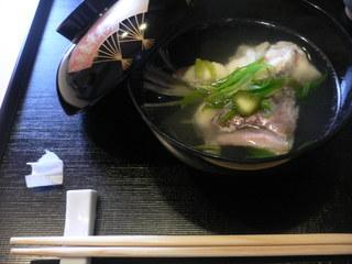 富山ランチブログ隊 ふじ居 鯛のあら汁