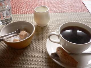 富山ランチブログ隊 CIBO 食後のコーヒー