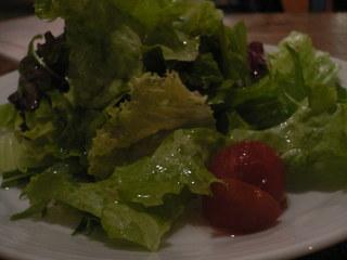 富山ランチブログ隊 ピッツァ イズム 前菜サラダ