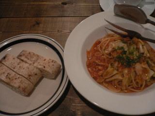 富山ランチブログ隊 ピッツァ イズム ツナと春キャベツのトマトソースオルガノ風味