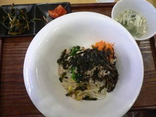 富山ランチブログ隊]どんたく食堂 スッカラ ピビンバ定食