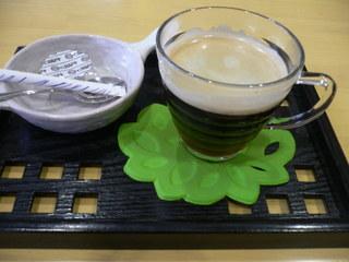 富山ランチブログ隊]どんたく食堂 スッカラ 食後のポットコーヒー