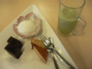 富山ランチブログ隊 しゃぶ心 食後のデザート