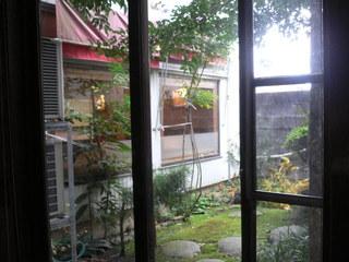 富山ランチブログ隊 トラットリア・ジェスティーノ 店内 お庭