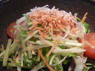 富山ランチブログ隊 ステーキハウス ヌキエ 生野菜