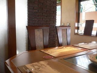 富山ランチブログ隊 ステーキハウス ヌキエ 店内情景 座席