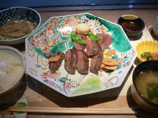 富山ランチブログ隊 ステーキハウス ヌキエ Bランチご膳 ステーキセット