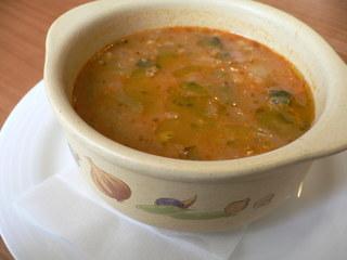 富山ランチブログ隊  ラディーチェ バニーニのスープ