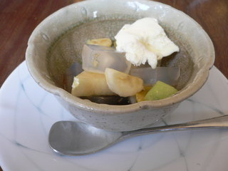 富山ランチブログ隊 茶房  POPO (ポポ) 食後のデザート