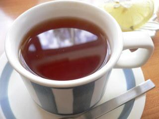 富山ランチブログ隊 モーノ(moohno) デザートセットのドリンク 紅茶