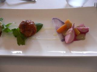 富山ランチランチブログ隊 4種の前菜盛り合わせ