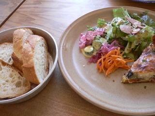 富山ランチブログ隊 メルシー食堂 b、キッシュランチ