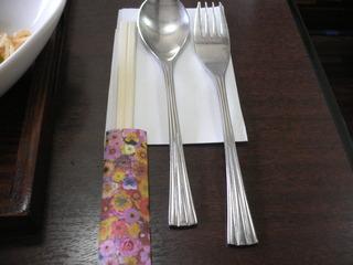 富山ランチブログ隊 カプリチョ  スプーン&フォーク&お箸箸