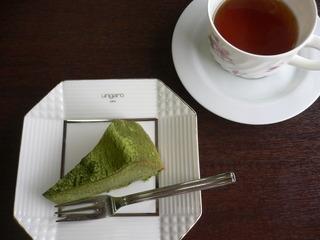 富山ランチブログ隊 カプリチョ  ガトショコラ 抹茶&紅茶