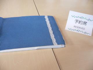 富山ランチブログ隊 カフェブルーリーブス 店テーブル予約席