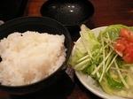 龍 ランチ ご飯&サラダ