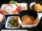 富山ランチ お造り定食