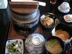 富山ランチ 釜飯定食