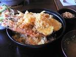 伊太利屋 今日のランチ(天ぷら丼定食)