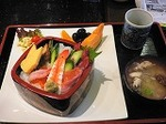きときと寿司 ランチメニュー 海鮮ちらし御膳