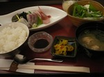 WAZA お造りランチ お好みランチ A