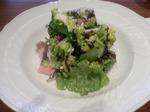イル・デスコ 前菜(県産和牛サーロインのサラダ)