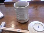 富山ランチ 鮨人 煎茶