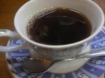 富山ランチ 四十萬亭 食後のコーヒー